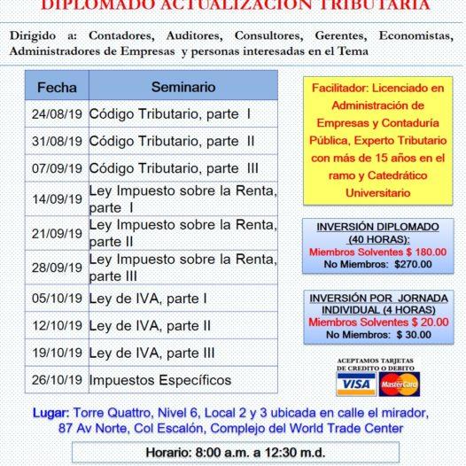 Diplomado Actualización Tributaria.