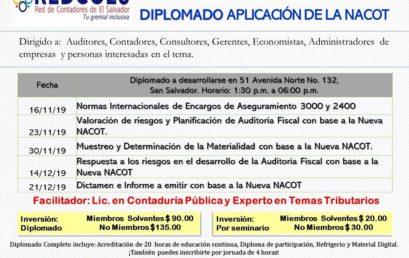 DIPLOMADO APLICACIÓN DE LA NACOT