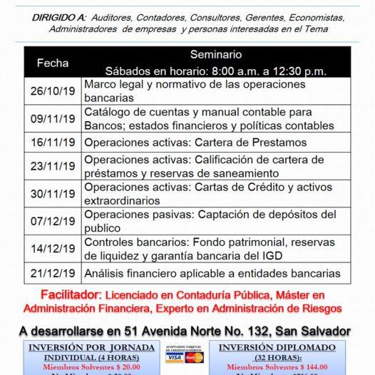DIPLOMADO DE CONTABILIDAD BANCARIA