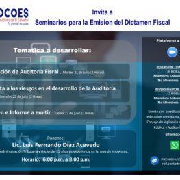 Emisión del Dictamen Fiscal