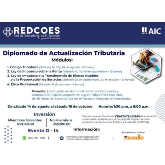 Diplomado en Actualización Tributaria.