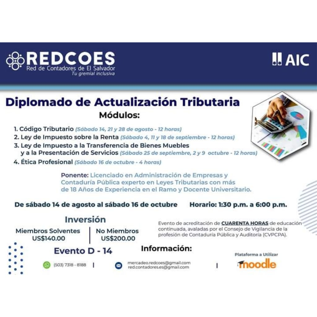 Diplomado de Actualización Tributaria.